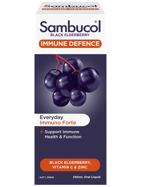 Sambucol Black Elderberry Immune Defence 250ml