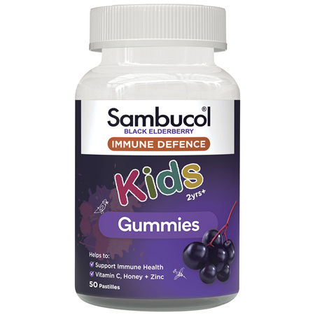 Sambucol Black Elderberry Immunity Kids Gummies