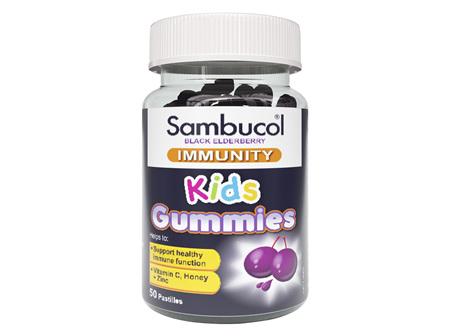 Sambucol Immune Defence Gummies 50 Pack