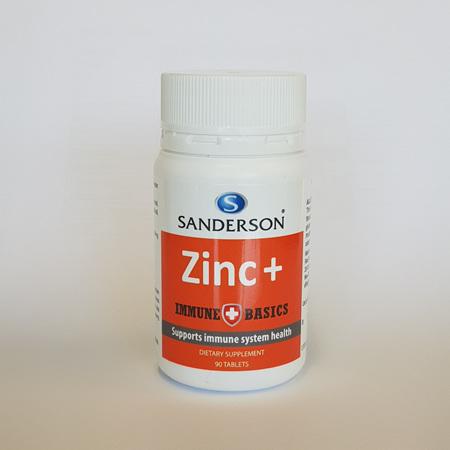 Sanderson Immune Basics Zinc 90 tabs
