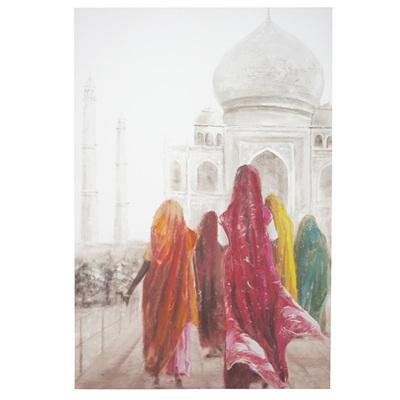 Saree Canvas Print 100x150cm
