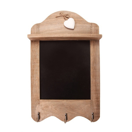 Sass & Belle Scalloped Blackboard with Hooks
