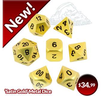Satin Gold Blog
