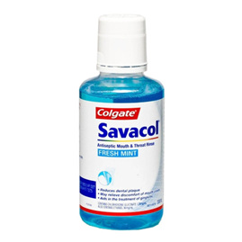 SAVACOL Fresh Mint Mouth & Throat Rinse 300ml