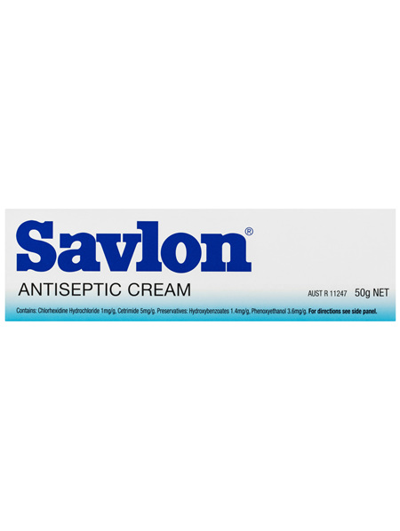 Savlon Antiseptic Cream 50g