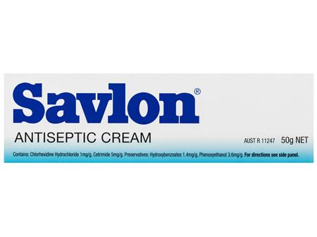 Savlon Soothing and Healing Antiseptic Cream 50g
