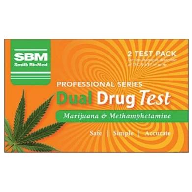 SBM Dual Drug Test (THC/MET) 2pk
