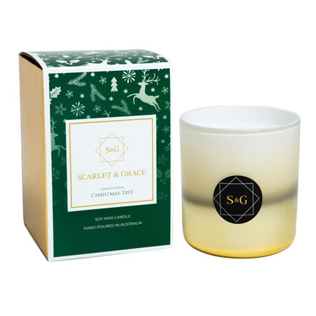 Scarlet & Grace Christmas Candle 380g