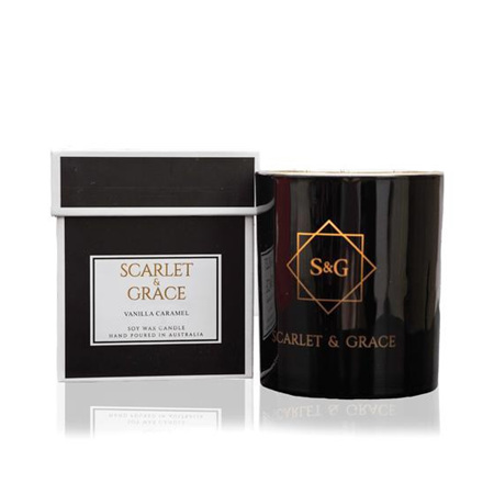 Scarlet & Grace Vanilla Caramel Candle 340g