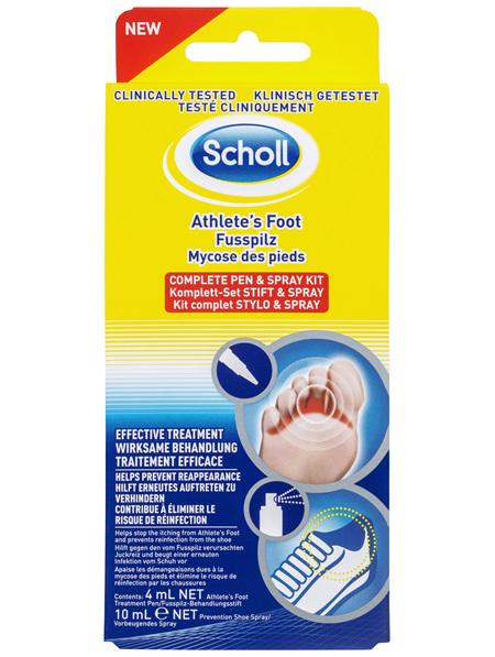Scholl Athlete's Foot Complete Pen & Spray Kit