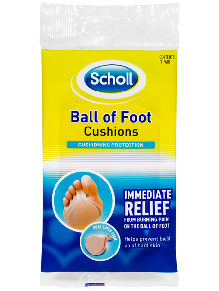 Scholl Ball of Foot Cushion Shoe Insert Comfort and Cushioning