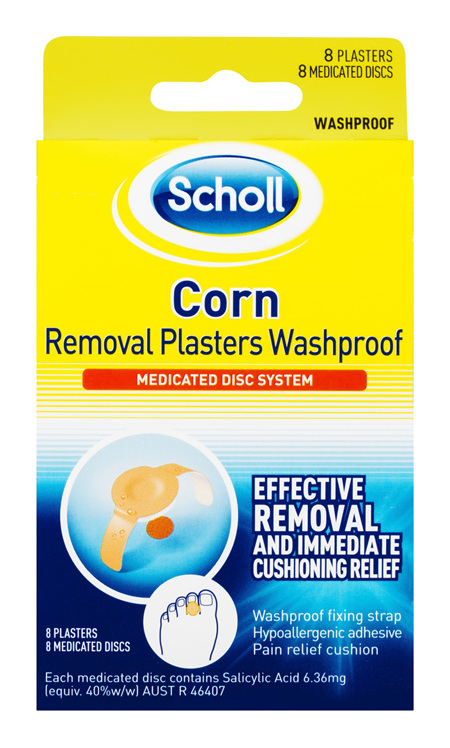 Scholl Corn Removal Plaster Waterproof