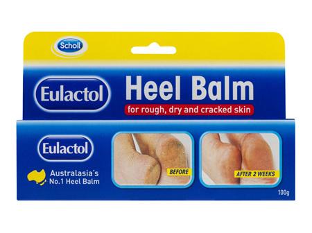 Scholl Eulactol Cracked Heel Balm 100g