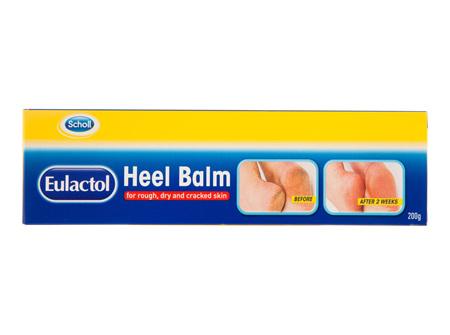 Scholl Eulactol Cracked Heel Balm 200g