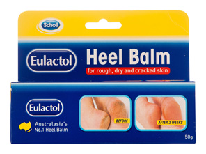 Scholl Eulactol Cracked Heel Balm 50g