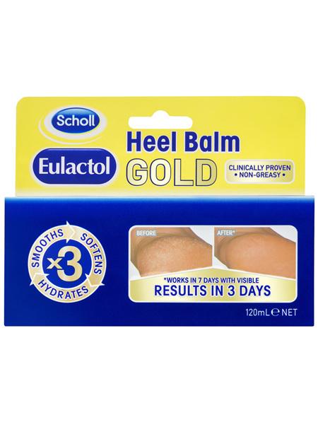 Scholl Eulactol Cracked Heel Balm Gold 120ml