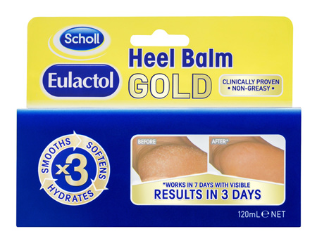 Scholl Eulactol Cracked Heel Balm Gold 120ml