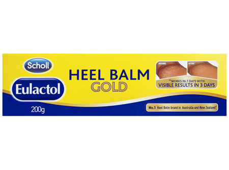 Scholl Eulactol Cracked Heel Balm Gold 200g