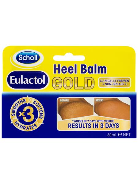 Scholl Eulactol Cracked Heel Balm Gold 60ml