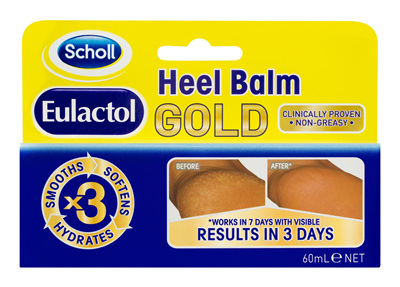 Scholl Eulactol Cracked Heel Balm Gold 60ml