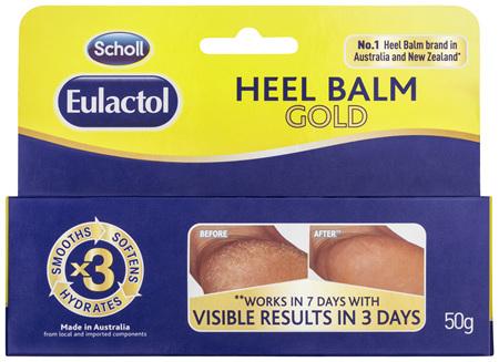 Scholl Eulactol Heel Balm Gold 50g