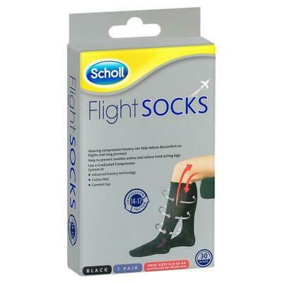 SCHOLL Flight Sock Black M6-9 W8-10