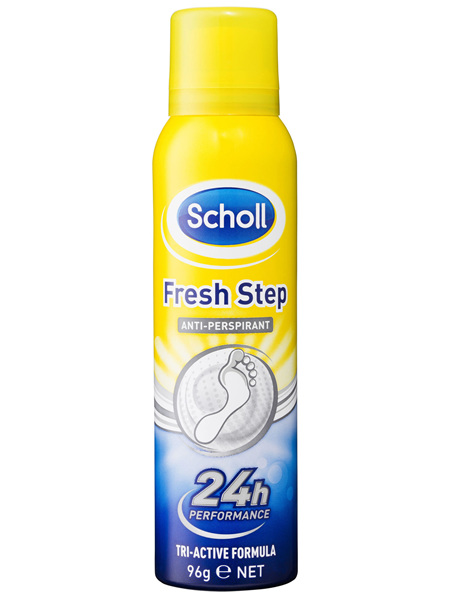 Scholl Fresh Step Antiperspirant Foot Spray 96g
