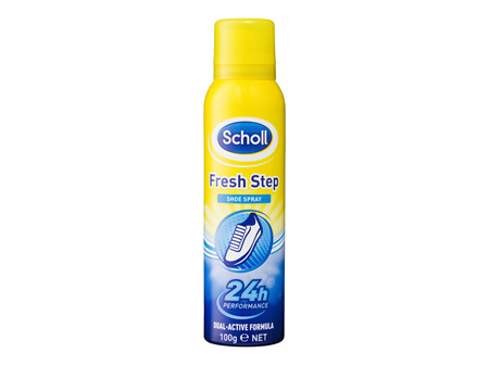 Scholl Fresh Step Shoe Spray 100g