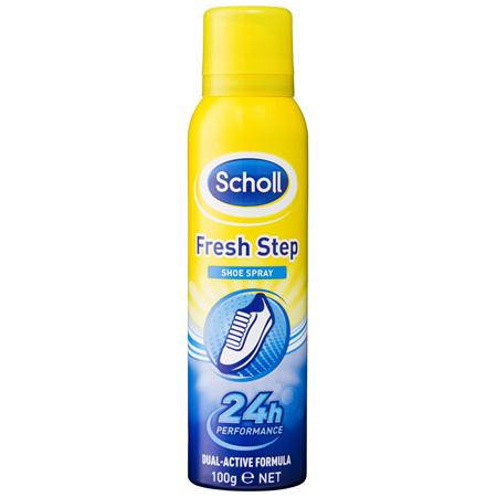 Scholl Fresh Step Shoe Spray 100g