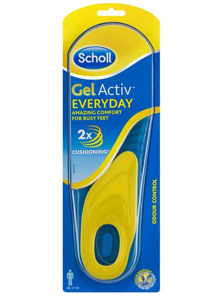 Scholl Gel Activ Everyday Insoles Men