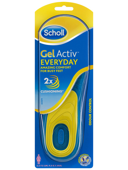 Scholl Gel Activ Everyday Insoles Women