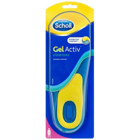 Scholl Gel Activ Everyday Insoles Women