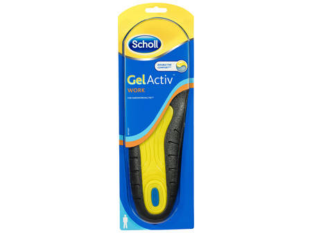Scholl Gel Activ Work Insoles Men
