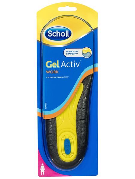 Scholl Gel Activ Work Insoles Women
