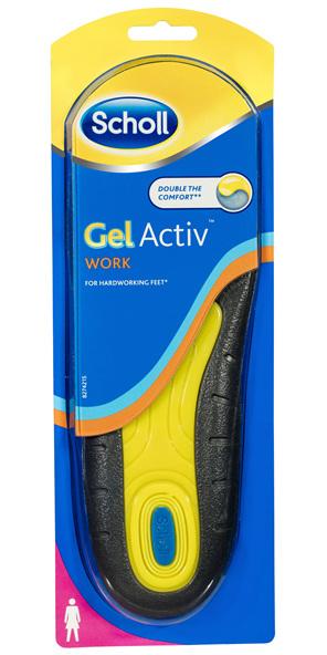 Scholl Gel Activ Work Insoles Women