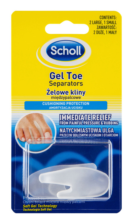 Scholl Gel Toe Separator Pain Relief