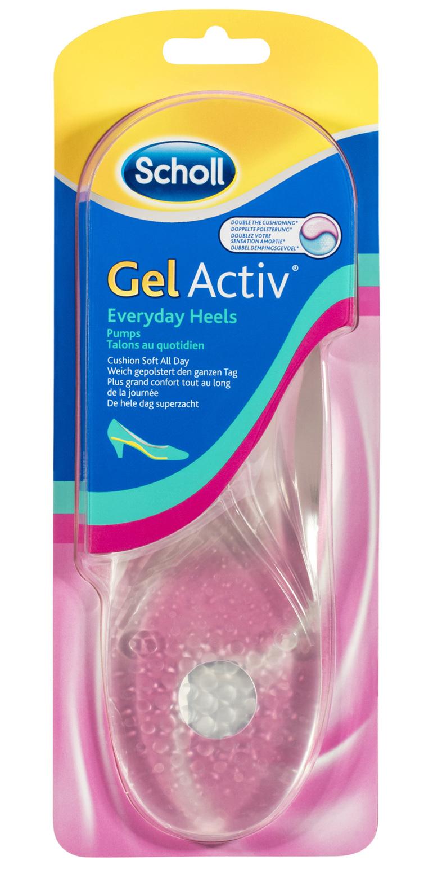 Scholl GelActiv Female Insoles for Everyday Heels