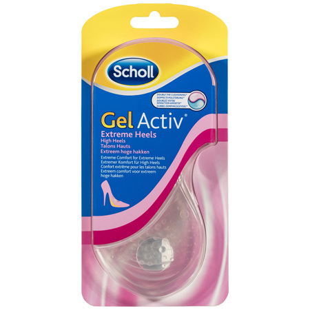 Scholl GelActiv Female Insoles for High Heels