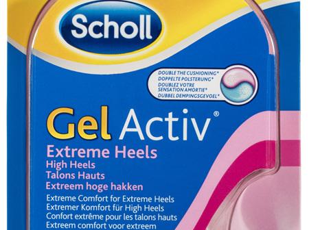 Scholl GelActiv Female Insoles for High Heels