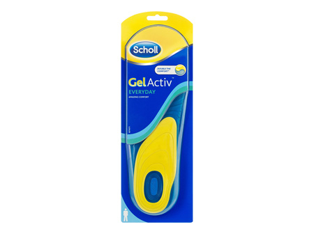 Scholl GelActiv Insole Everyday Men Shoe Cushioning & Comfort