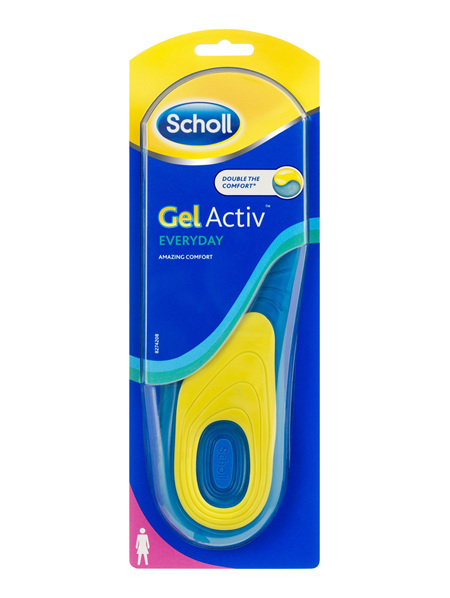 Scholl GelActiv Insole Everyday Women for Comfort and Cushioning