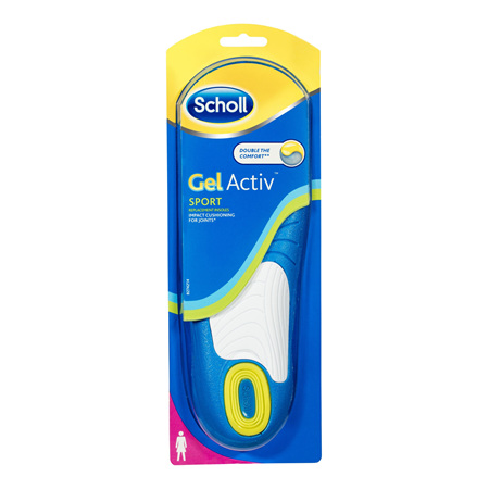 Scholl GelActiv Insole Sport Women for Comfort and Cushioning