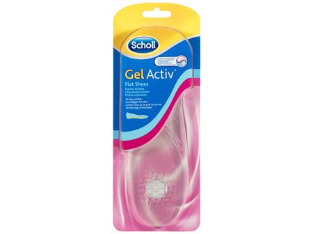 Scholl GelActiv Insoles for Women Flat Shoes Shoe Cushioning  Comfort