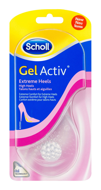 Scholl GelActiv Insoles for Women High Heels Shoe Cushioning & Comfort