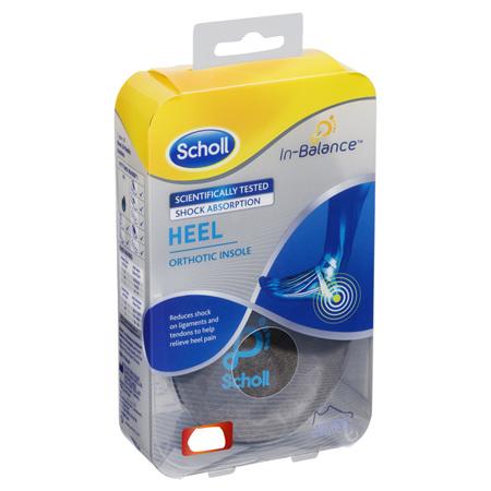 SCHOLL In-Bal. Insole Heel &Ankle S