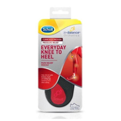SCHOLL In-Balance Insole Knee to Heel L