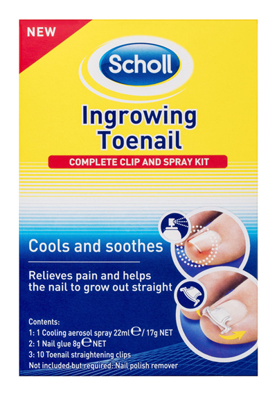 Scholl Ingrowing Toenail Treatment Kit
