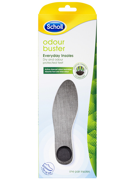 Scholl Odour Buster Everyday Insole