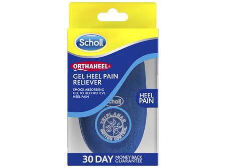 Scholl Orthaheel Gel Heel Pain Reliever Small
