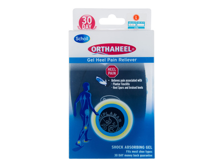Scholl Orthaheel Gel Heel Reliever Pain Relief Large